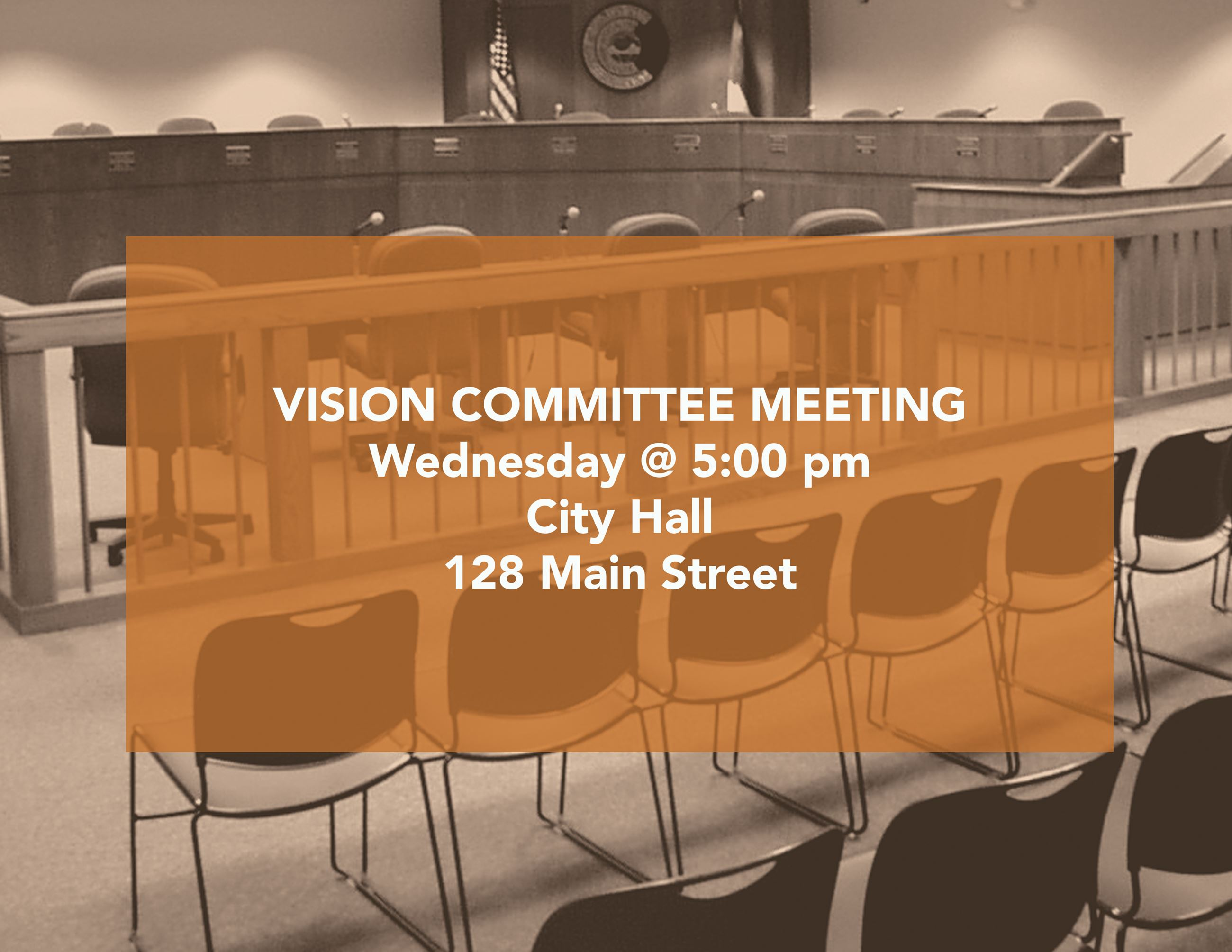 Vision Committee 5pm