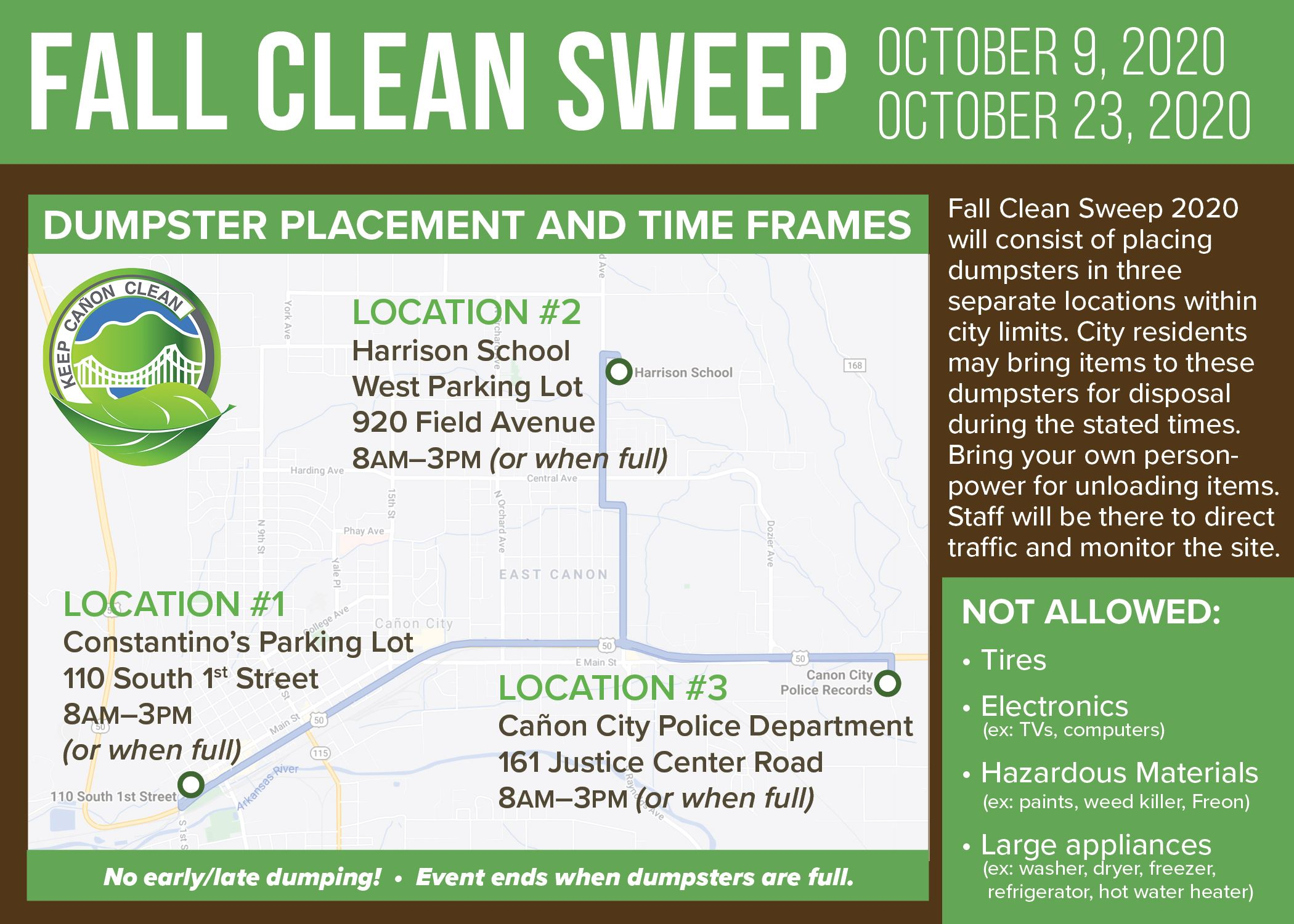 Fall Cleanup 2020 Informational