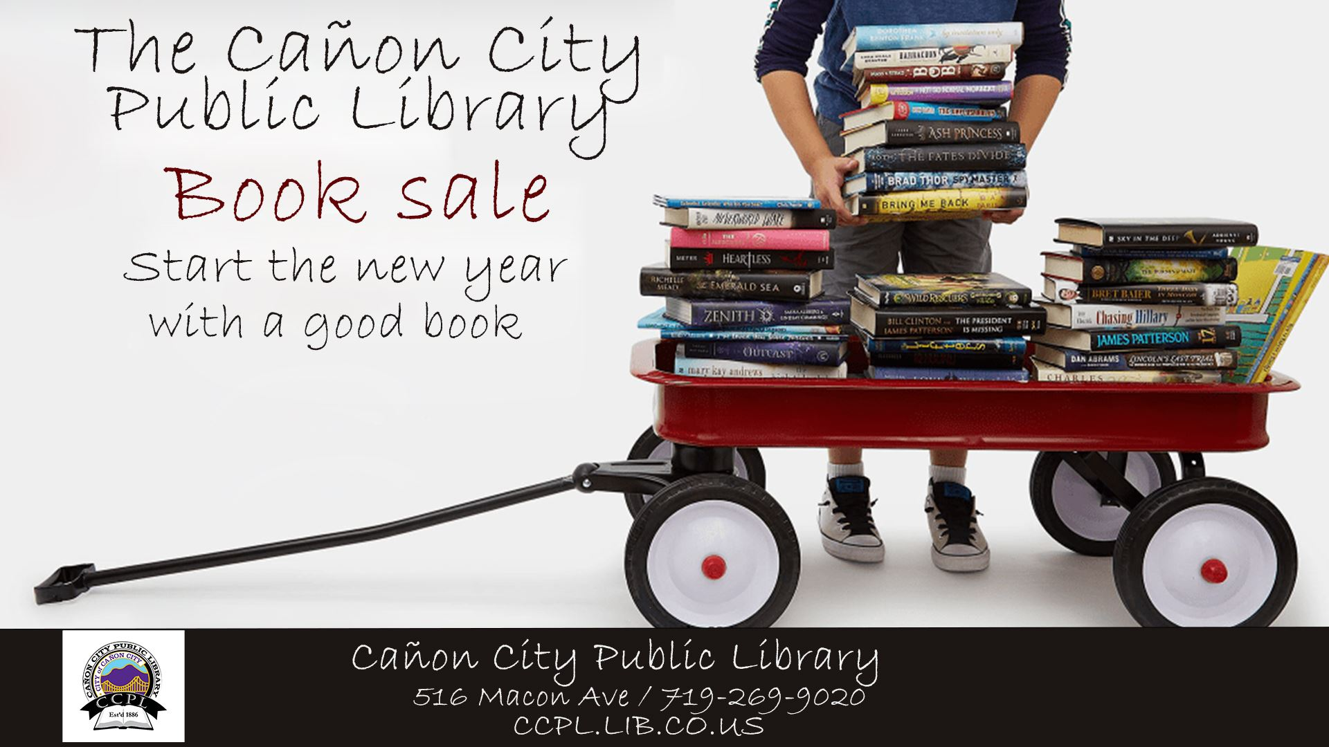book sale 2021 flyer