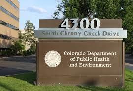 Colorado Public Health Sign